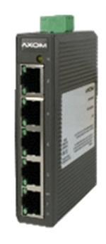 Switch 4-fach auf DIN Schiene installierbar