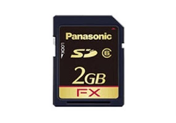 2 GB SD Memory Karte für VoiceMail