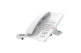 Fanvil H3 SIP Deskphone weiss Speziell für den Einsatz in Hotelzimmer entwickelt