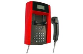 innovaphone Wandtelefon robust IP150 mit Kopfhörer