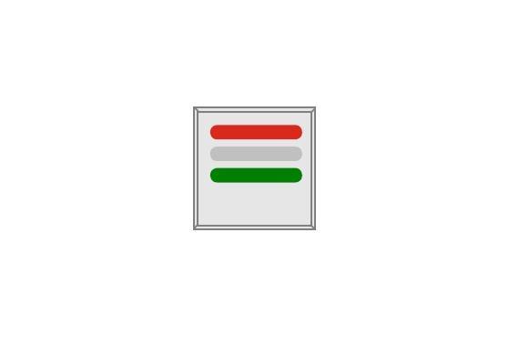LED Zimmersignalleuchte(rt,ws,gn) Design FLAT mit Zimmermodul  zu NETpro