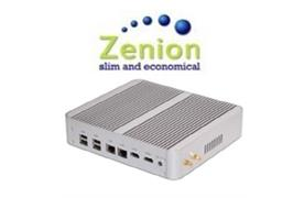 Lüfterloser Zenion Mini-PC i5-5200U v5, 120GB SSD, 2.2 GHz, Turbo-Boost 2.7 GHz, 8GB RAM