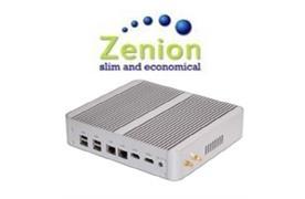Lüfterloser Zenion Mini-PC i7 120GB SSD, 2.6GHz, Turbo-Boost 3.2GHz, 8GB RAM