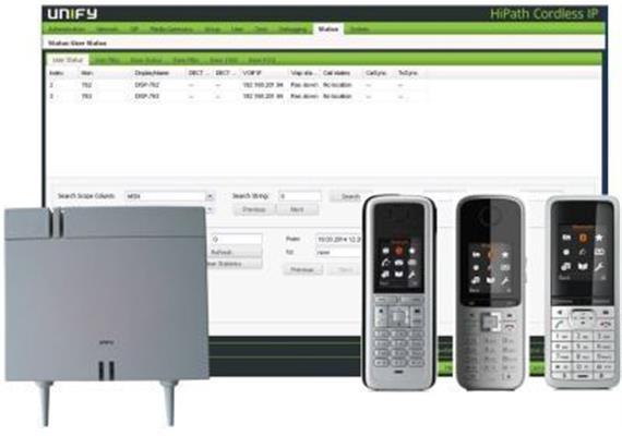 OpenScape Business Cordless IP V2 DECT Base Manager