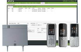 OpenScape Business Cordless IP V2 je weiterer DECT Manager