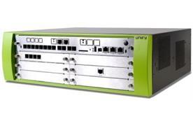 OpenScape Business X5RSystemeinheit für die Rackmontage, LAN/WAN, 2xS0 / 8x UP0/E / 4x a/b