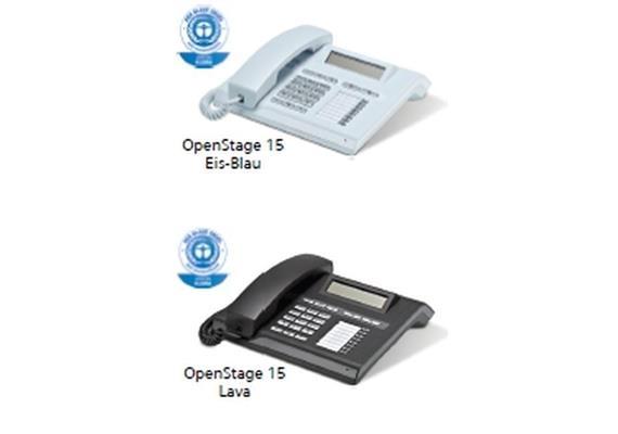 OpenStage 15 HFA V3 Eis-Blau