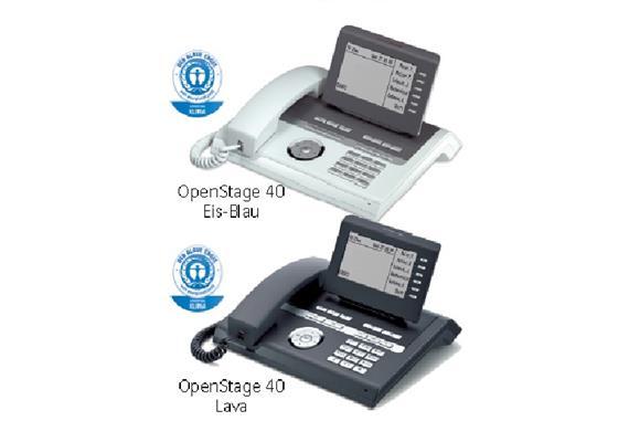 OpenStage 40 G HFA V3 Eis-Blau
