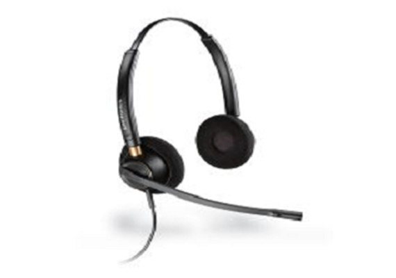 Plantronics Corded Headset Binaural/Stereo