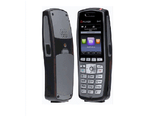 Spectralink 8441 without Lync support, BLACK. Order battery and charger separately