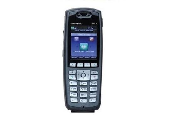 Spectralink 8453 without Lync support, BLACK. Order battery and charger separately.