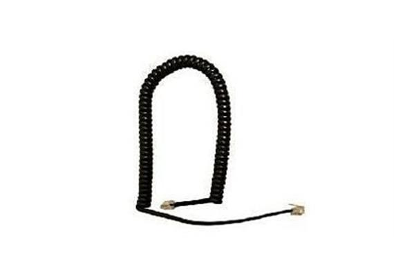 Telephone cord black