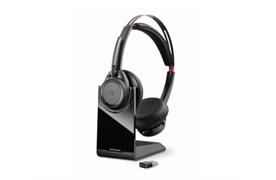 Voyager UC B825 Bluetooth Headset mit Station und USB-Dongel