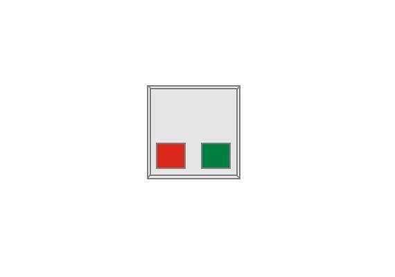 Zimmermodul Basis mit Ruf- und Abstelltaster zur NETpro